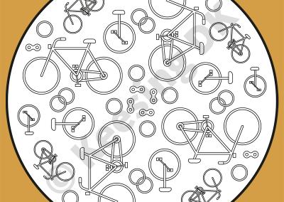 Farvelægningsopgave (idé & illustration) til Keesing DK