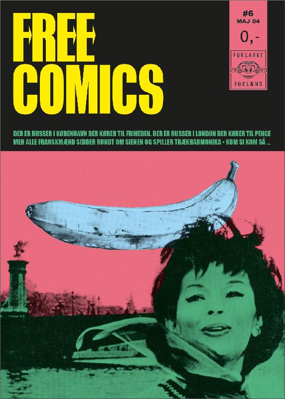 Opstart/primær grafiker for månedsbladet Free Comics (2003-2006)