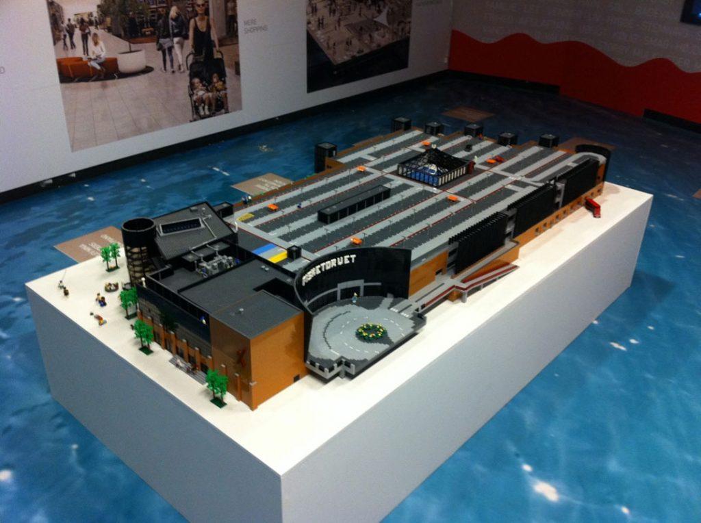 LEGO® model i samarbejde med Jesper Hansen