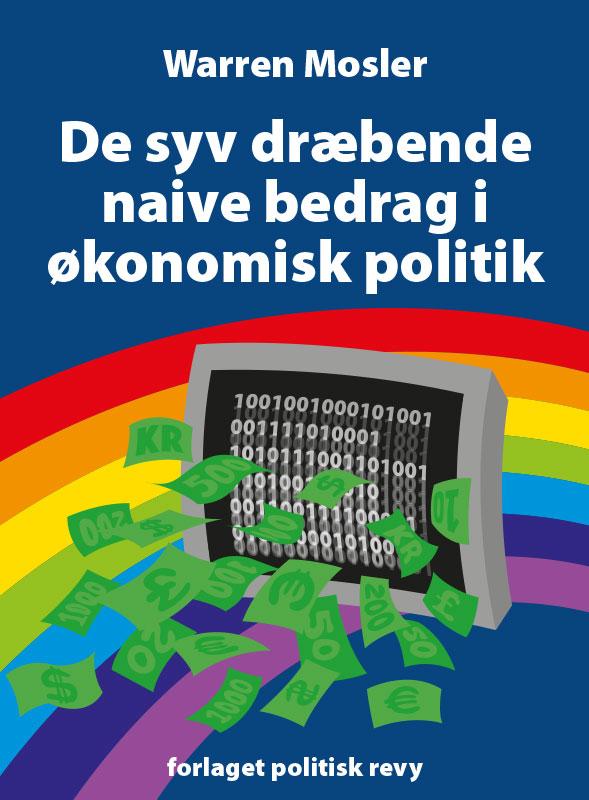 Forsideillustration/omslagsdesign for 'forlaget politisk revy' (2017)